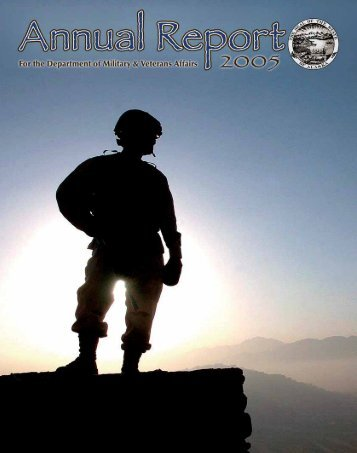2005 Annual Report - Alaska - Department of Military and Veterans ...
