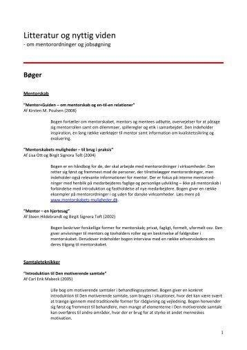 Litteratur og nyttig viden - Foreningen Nydansker
