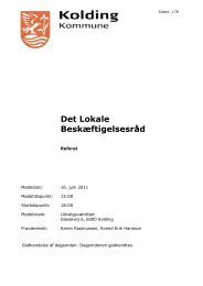 Beslutning - Kolding Kommune