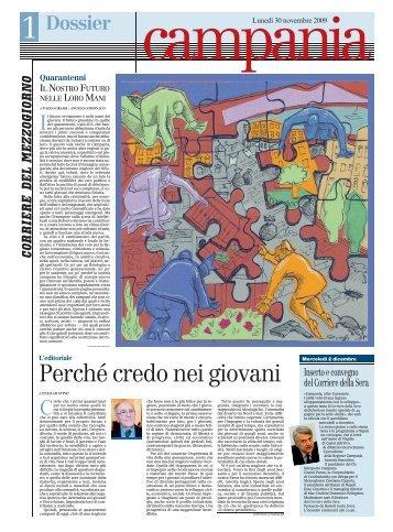 campania/direzione/01 ... 30/11/09 - Corriere del ...