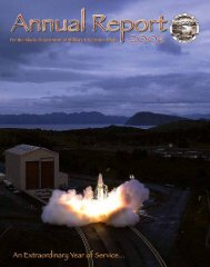 2006 Annual Report - Alaska - Department of Military and Veterans ...