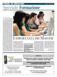 l'importanza dei maestri - Corriere del Mezzogiorno - Corriere della ...