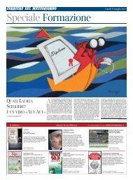 Quale laurea scegliere? - Corriere del Mezzogiorno - Corriere della ...