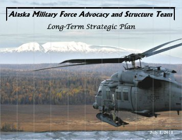 Strategic Long-Term Plan - Alaska - Department of Military and ...