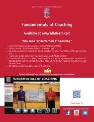 Fundamentals of Coaching