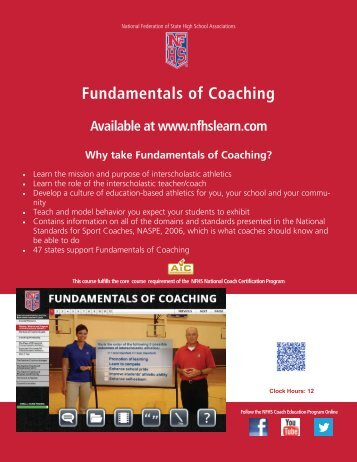 Fundamentals of Coaching