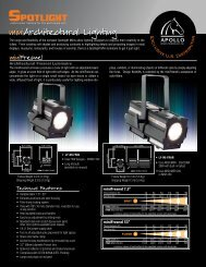 miniArchitectural Lighting - Apollo Design Technology