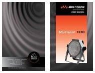 Multispot 1310 - Apollo Design Technology