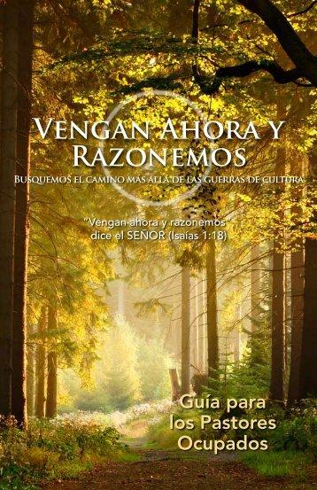 Vengan Ahora y Razonemos - Come Let Us Reason Together ...