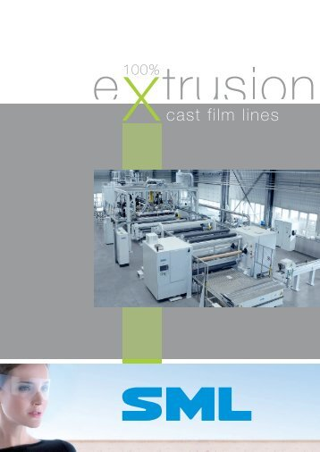product folder cast film lines - SML