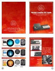 Vertical Creative F/X Guide - Apollo Design Technology