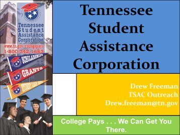 Tennessee Student Assistance Corporation - Website
