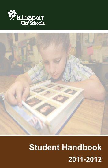 Student Handbook - Kingsport City Schools