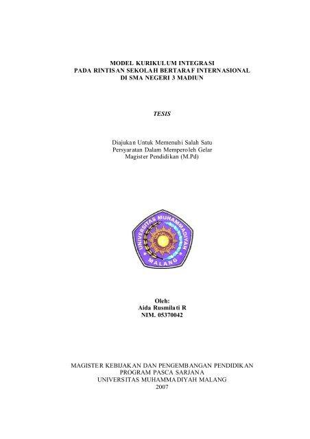 File Thesis Pdf Universitas Muhammadiyah Malang