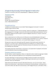 Afrapportering af NAL.pdf - DEFF