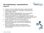 Ny organisering - konsulenterne - Imidt