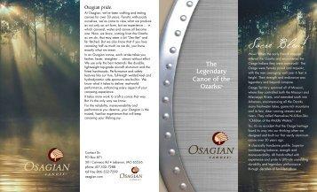 Osagian Canoes Brochure