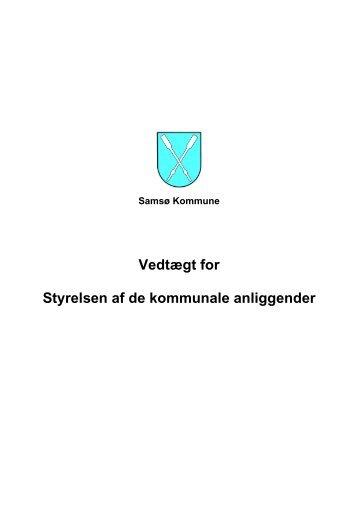 styrelsesvedtægt - Samsø Kommune