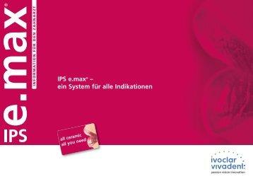 IPS e.max® – ein System für alle Indikationen - Antweiler Zahntechnik