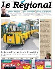 Le Lavaux Express victime de vandales