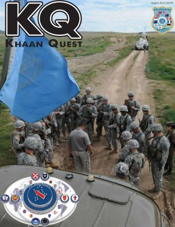 khaan quest - Alaska - Department of Military and Veterans Affairs ...