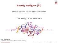 Kunstig intelligens (AI)