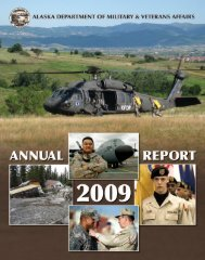 Warrior Winter 2004-2005 - Alaska - Department of Military and ...
