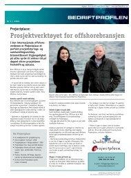Projectplace: Prosjektverktøyet for offshorebransjen - Bedriftprofilen