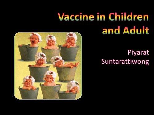 Vaccine in children & adult - โรงพยาบาลราชวิถี