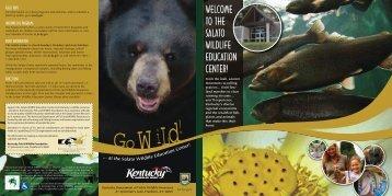 Salato Center Brochure - Kentucky Department of Fish and Wildlife ...