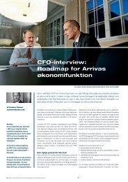 CFO-interview: Roadmap for Arrivas økonomifunktion - Basico