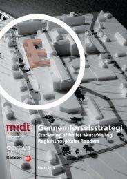 Gennemførselsstrategi - etablering af fælles akutafdeling