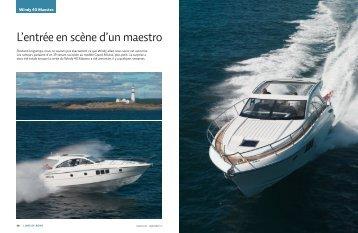 Septembre 2010 Windy 40 Maestro - bateau24.ch