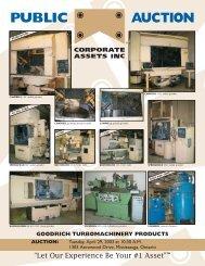 PUBLIC AUCTION - Corporate Assets Inc.