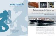 Elektromotoren im Vormarsch - marina.ch