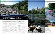 Eine Aaretour durch Bern - Marina.ch