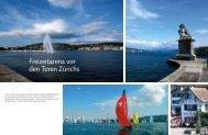 Freizeitarena vor den Toren Zürichs - marina.ch - das nautische ...