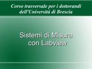 Sistemi di Misura con Labview - ArchiMeDes
