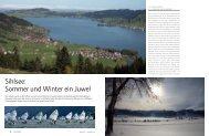 Sihlsee: Sommer und Winter ein Juwel - marina.ch - das nautische ...