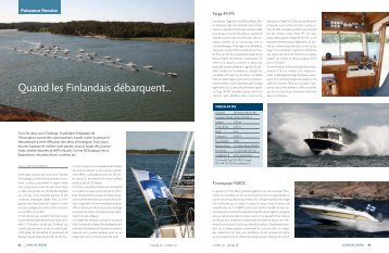 Quand les Finlandais débarquent… - marina.ch - das nautische ...