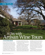 Luxury Travel Advisor Magazine features Artisan Wine Tours - GoExpo