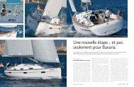 Une nouvelle étape … et pas seulement pour ... - Bavaria Yachtbau
