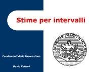 Stime per intervalli - ArchiMeDes