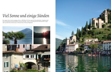 Viel Sonne und einige Sünden - marina.ch - das nautische Magazin ...