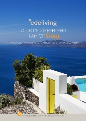 Edeliving Villas, the Medditerranean way of Living - GoExpo