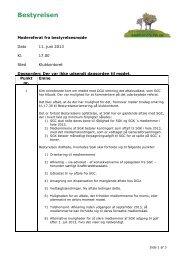 12/6 Referat fra bestyrelsesmøde d. 11. juni - Smørum Golfklub