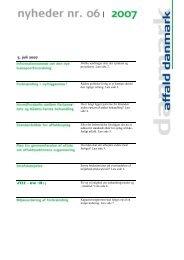 Nyhedsbrev 2007 06.pdf - affald danmark