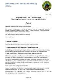 Kredsrådsmøde - DcH Kreds 1