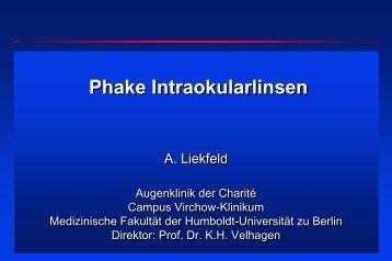 Phake Intraokularlinsen