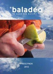 Baladéo Press Kit - Summer OR 2012 - GoExpo